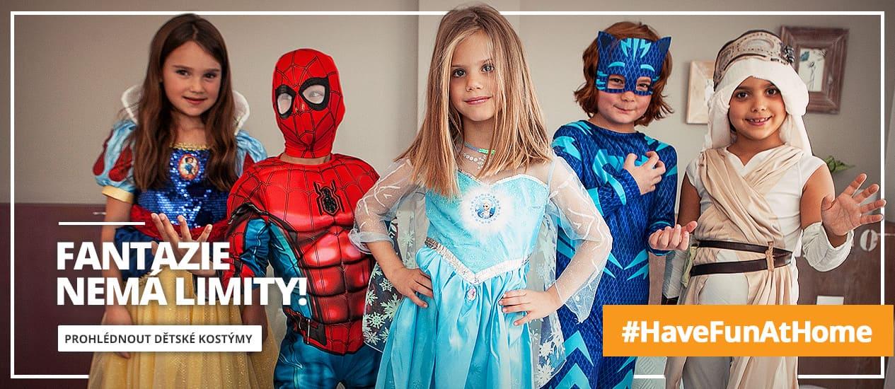 Dětské kostýmy pro originální děti