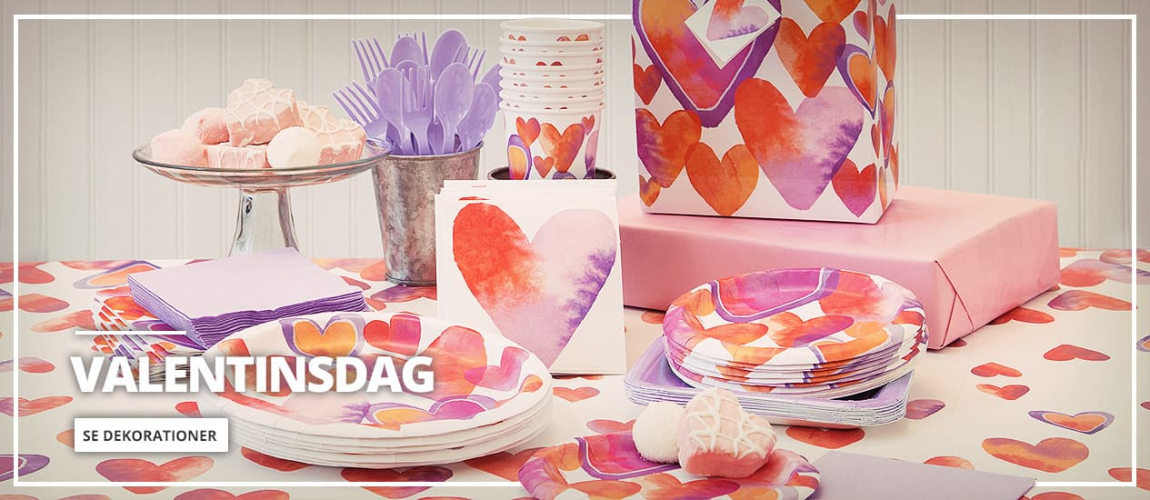 Valentinsdag Dekorationer