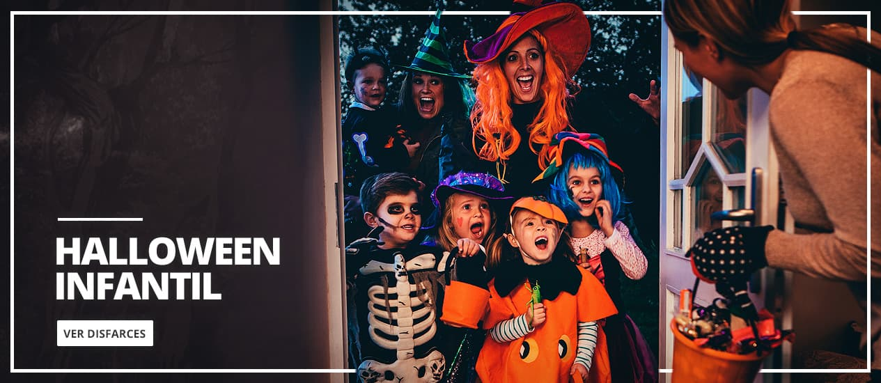 Fantasias de Halloween para Criança - Infantil