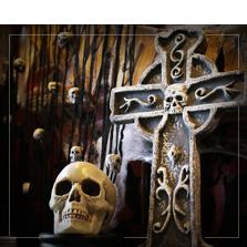 Tumbas y lápidas decorativas