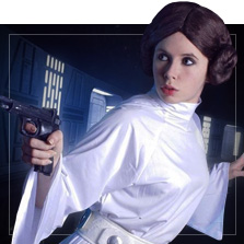 Fatos de Princesa Leia