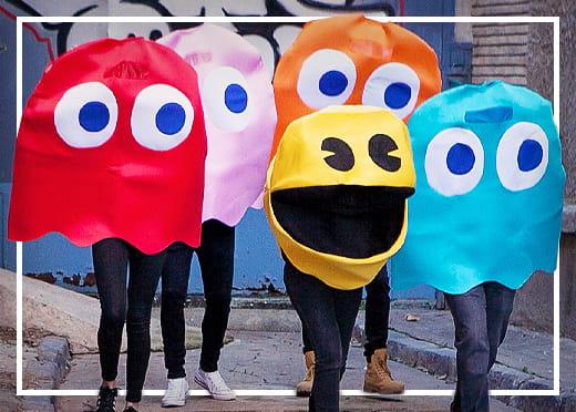 Pac-Man© Kostuums
