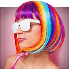 Parrucche Multicolore