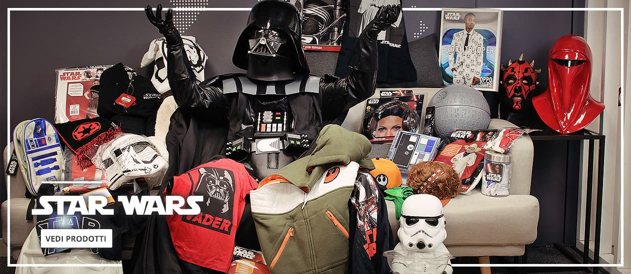 Star Wars: Costumi, decorazioni e merchandising