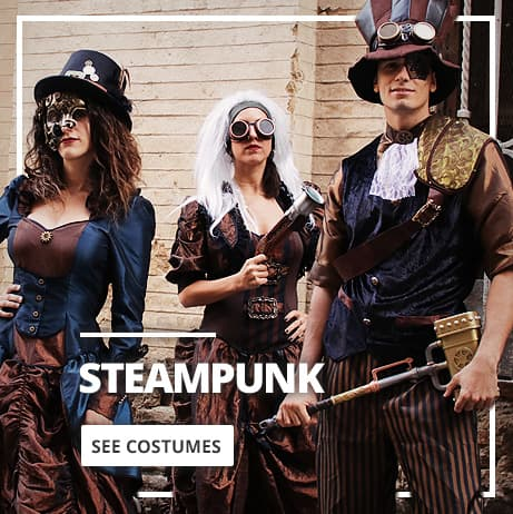 Steampunk Costumes for Men and Women