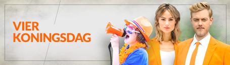 Koningsdag | Oranje artikelen | Holland