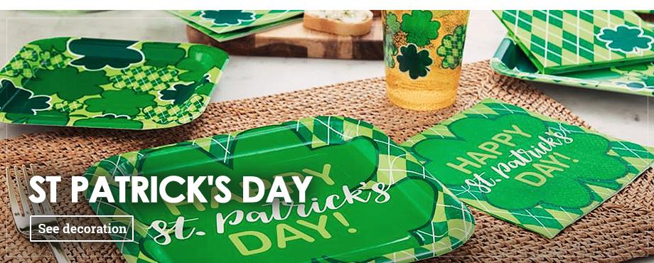 St. Patrick's Party & Decorations