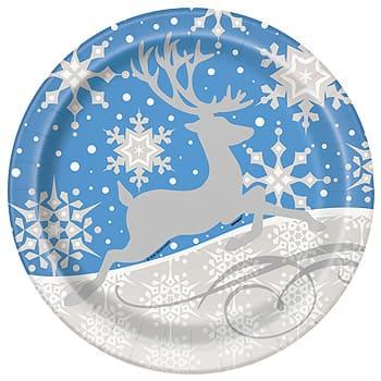 Silver Snowflake Christmas