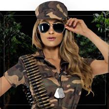 Militær & Soldater Kostumer