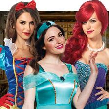 Kostýmy Disney princezny