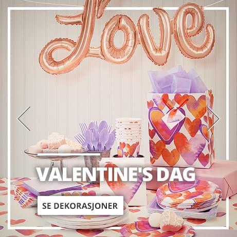 Valentine's Dag Dekorasjoner