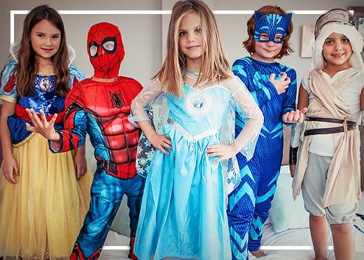 Kostýmy pre chlapcov a dievčatá