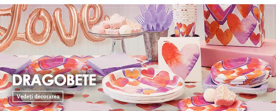 Decorațiuni Valentine's Day & Dragobete