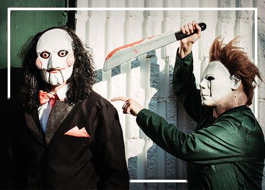Horror maszkok