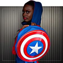 Captain America Presenter