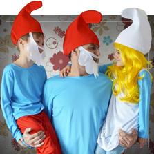 Maskeradkläder Smurfarna