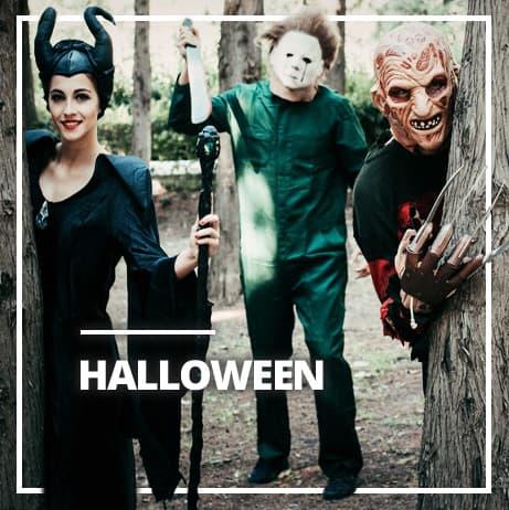 Halloweenské kostýmy pro dospělé