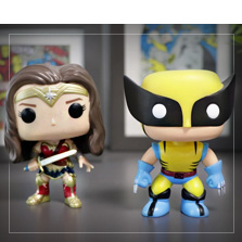 Supersankarit Funko Pop!