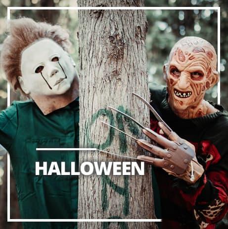 Halloween asut miehille