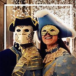 Venezianische Augenmasken