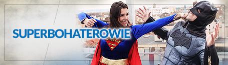 Kostiumy superbohaterów i przestępców