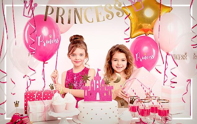 Decoración de cumpleaños para niña