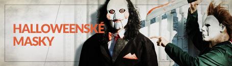 Halloweenské masky