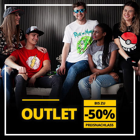 Outlet auf Geek Merchandise