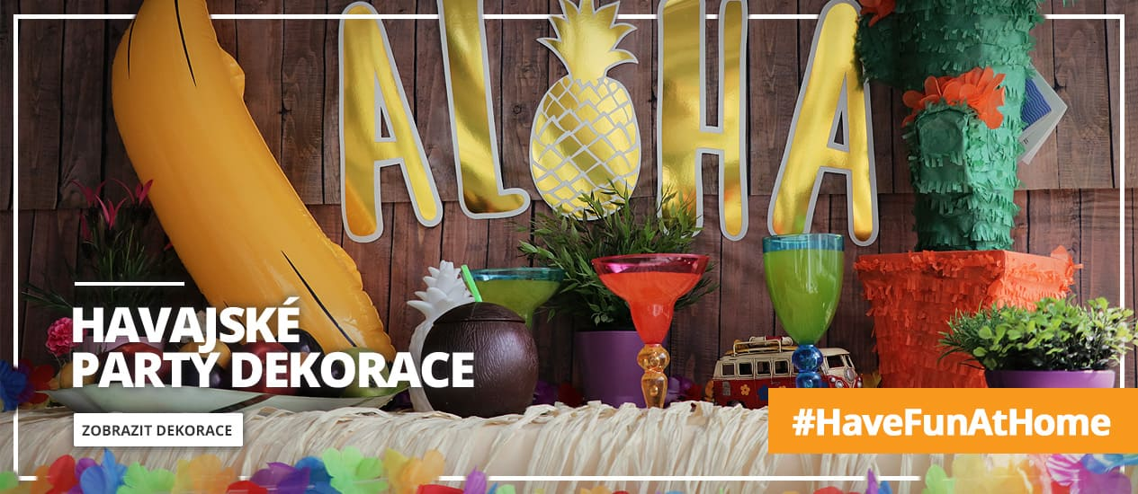 Havajské party dekorace
