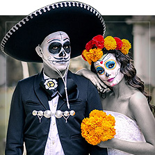 The Day of Dead kostumer