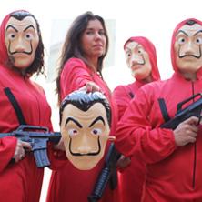 Kostýmy La Casa de Papel