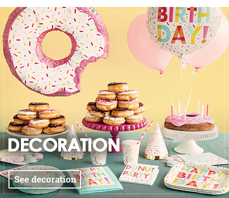 Birthday Decorations Themed Party