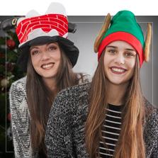 Bonnets de Noël originaux