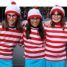 Fantasias de Onde está o Wally?