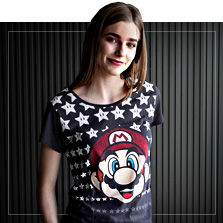 T-shirts de Super Mario Bros