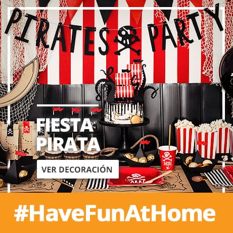 Decoración de Fiesta Pirata