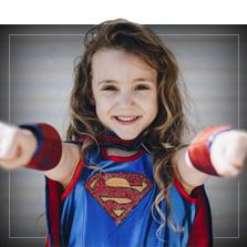 Kostýmy superhrdinové