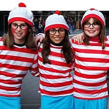 Kostýmy Kde je Wally?