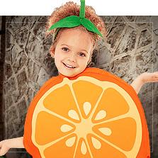 Costumi per bambina. Vestiti di carnevale per bambina.  3e2f72301ce6