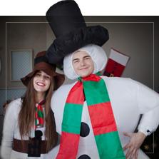 Schneemann Kostüme