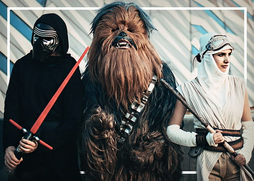 Star Wars dräkter