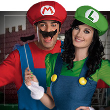 Disfraces Super Mario Bros