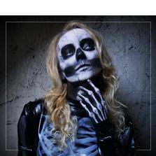 Zwarte Make-up