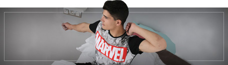 Camicie e T-Shirt Marvel