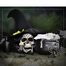 Hexen & Zauberer Mottoparty