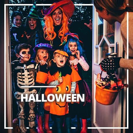 Halloween kostýmy pro dívky