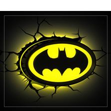Lâmpadas de Batman
