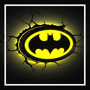 Batman lamper