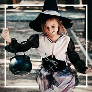 Halloween niña