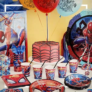 Spiderman Mottoparty